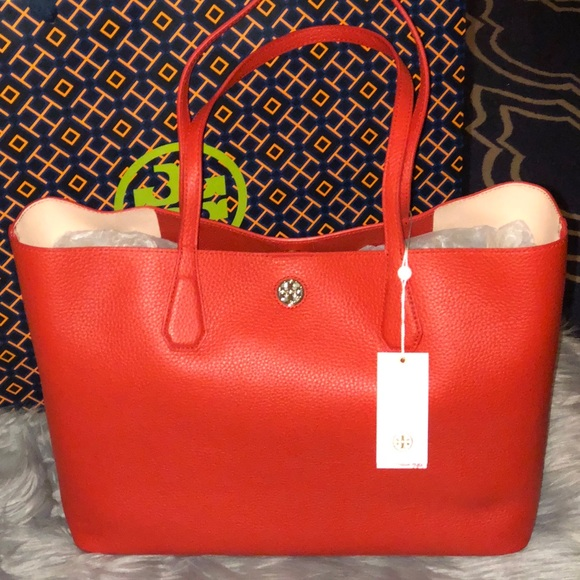 301006113f0 Authentic TORY BURCH Perry Tote. NWT